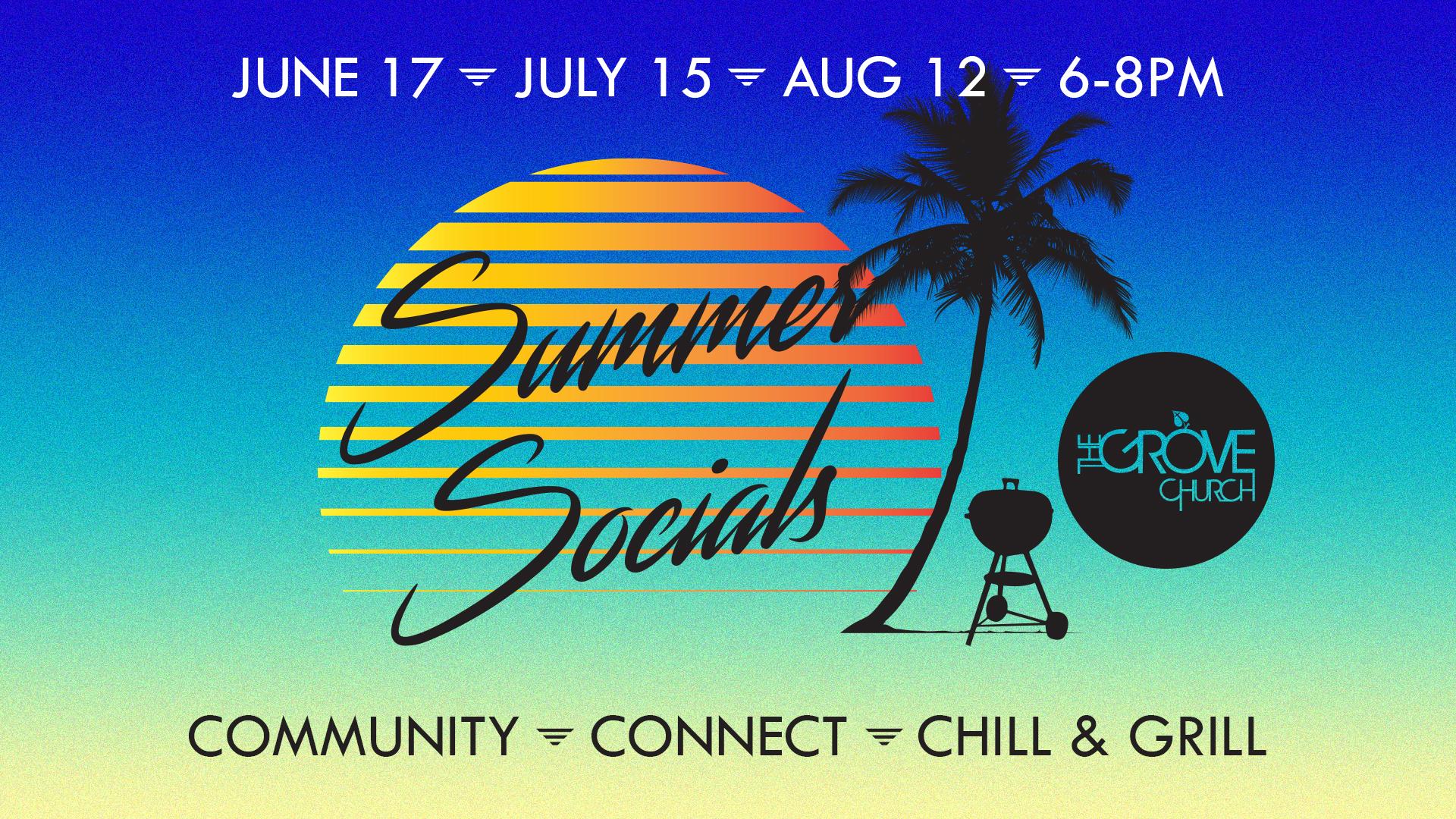 Summer Socials Web Graphic
