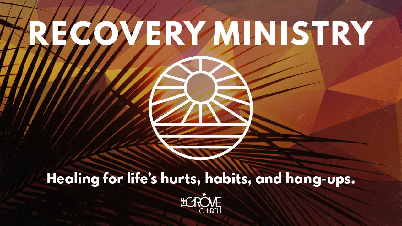 Recovery Ministry Web Graphic